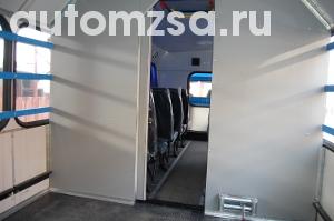 Вахтовый автобус УРАЛ 3255 с отсеком для снегохода