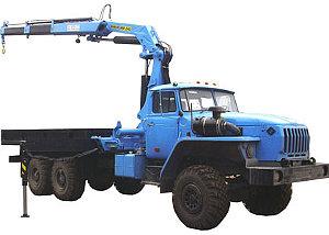 Бортовой УРАЛ-4320 с гидроманипулятором ИМ-240