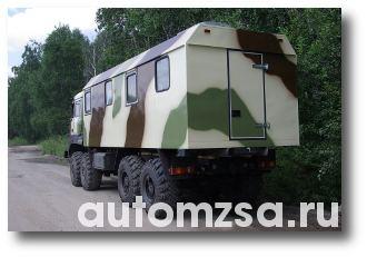 Автомобиль ОХОТНИК УРАЛ 8х8